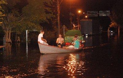 Bajo Chaco, inundado y abandonado por las autoridades