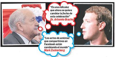 Marck Zuckerberg quiere cambiar Día de la Amistad