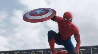 El Hombre Araña se une al Capitán América