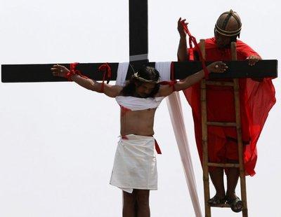 Recuerdan la muerte de Jesús