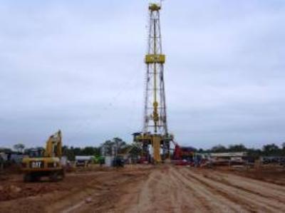HOY / Alistan máquinas para buscar petróleo en San Pedro