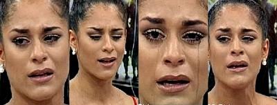 El desconsolado llanto de Fabi Martínez