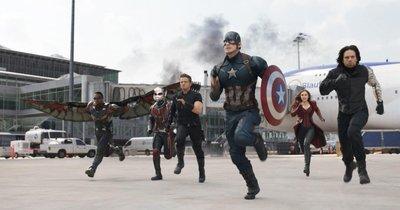 """Imágenes: Los héroes se dividen en """"Capitán América: Civil War"""""""