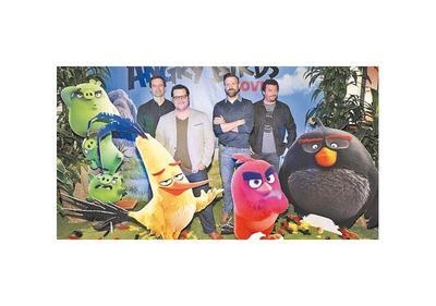 El esperado Angry Birds  llega a los cines