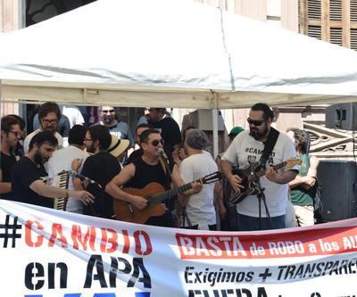 """#CambioenAPAya"" se manifiesta"