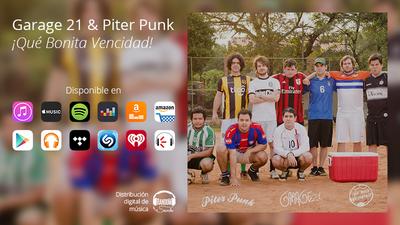 Las banda de rock Piter Punk y Garage21 sacaron EP en conjunto