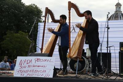 Mayo del Cambio, música por la transparencia