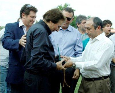 River Plate,visita ingrata para el General