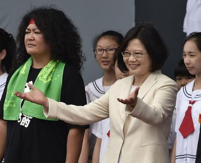 """Nueva presidenta de Taiwán aboga por un """"diálogo positivo"""" con China"""