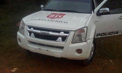 Dudosa barrera policial en Ypané