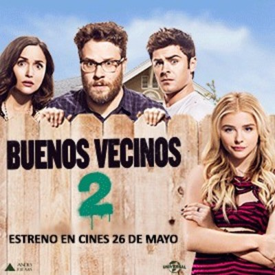 """""""Buenos vecinos 2"""" estrena en los cines del país – ADN"""