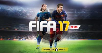 FIFA 17: primer adelanto