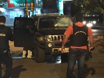 Un ejército de sicarios acribilla al capo del narcotráfico en Pedro Juan