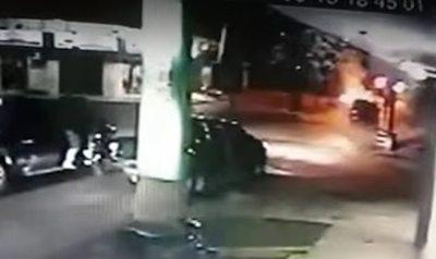 Revelan video del atentado