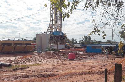 Hallan petróleo en Choré, pero no es extraíble