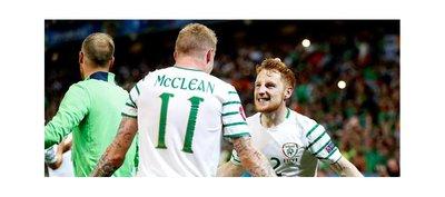 Irlanda supera a Italia y se aferra a la Eurocopa 2016