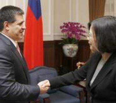 Tsai se reunirá con Cartes para fortalecer la amistad