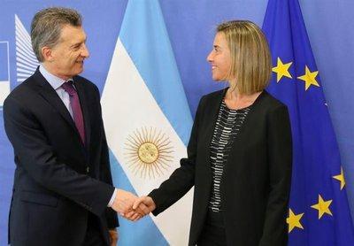 Argentina aborda con la UE el acuerdo con Mercosur