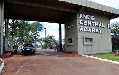 Afirman que ANDE utiliza la energía de Acaray solo para cubrir pérdidas