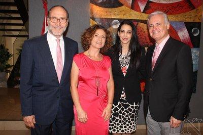 Noche de homenaje a la embajadora Antonella Cavallari