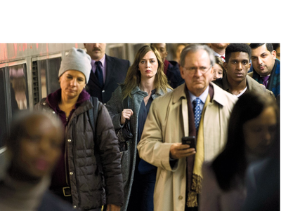 "Emily Blunt es la ""La chica del Tren"""