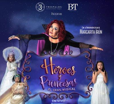 'Héroes y princesas' se despide este fin de semana