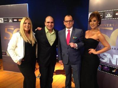 Emotivo festejo del 50 aniversario de la tv paraguaya desde el SNT. 5 décadas de historia.