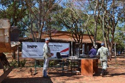 Desalojan al SNPP del local de la Diócesis de Misiones