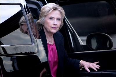 Una mala semana para la candidata Hillary Clinton