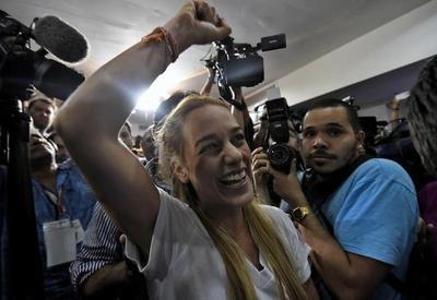 Lilian Tintori convoca a desobediencia civil en Venezuela