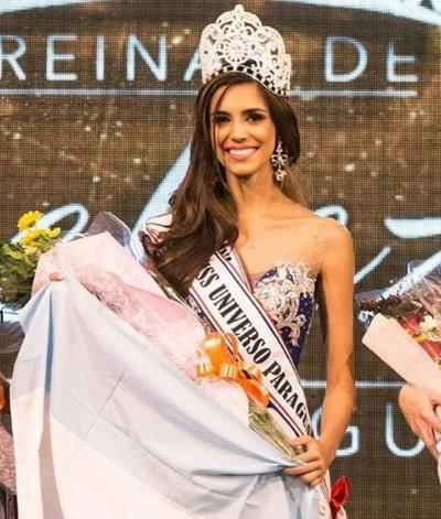 """El """"mensaje"""" De La Nueva Miss Paraguay 2016"""