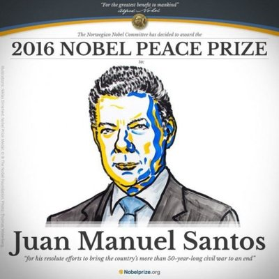 """Pese al Nobel, """"no será fácil"""" salvar el proceso de paz en Colombia"""