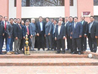 Ministro de deportes recibe a la Federación Paraguaya de Taekwondo