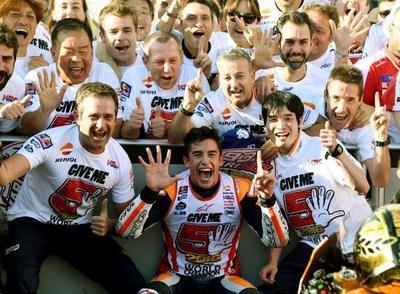 Moto GP: Marc Márquez es pentacampeón mundial
