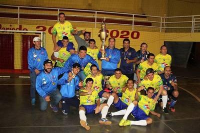 Presidente Franco se coronó bicampeón de futsal en la c40