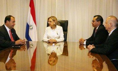 Reunión entre Pucheta, Afara y nuevo ministro