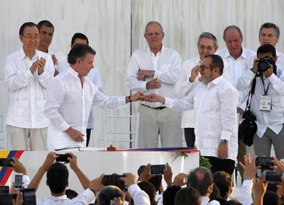 Paraguay celebra nuevo acuerdo de paz en Colombia