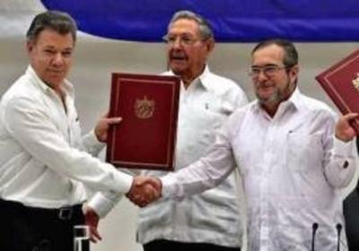 """""""Optimismo por el camino hacia la paz"""" en Colombia"""