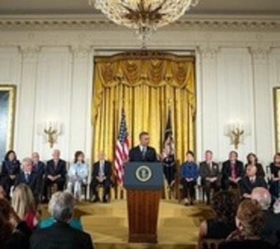 Jordan, Springsteen y De Niro, condecorados por Obama