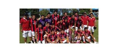 Los campeones del torneo Clausura en las Formativas