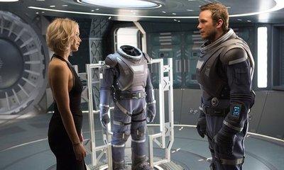 """Pasajeros"", nueva película con Chris Pratt y Jennifer Lawrence"