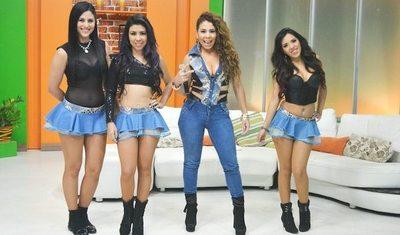 """""""Aroma"""" regresó al país con sus shows"""