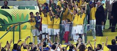 Prensa brasileña, eufórica