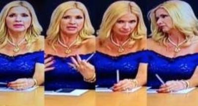 """Periodista critica a 'bandidas' en Tv: """"No sabe ni decir hola pero porque muestra pecho…"""""""