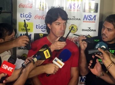 """Garnero: """"Por fortuna pudimos ganar el partido"""""""