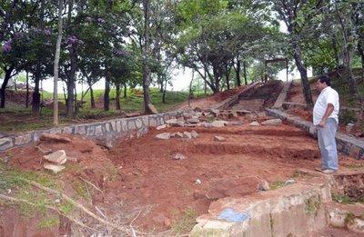 Mejoran el parque Ykua Bolaños
