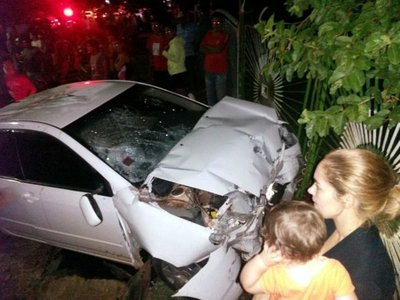 Conductor causó fatal accidente en Caaguazú