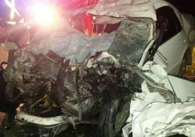 Fatal accidente en Villa Florida: mueren 3 adultos y un niño de 3 años