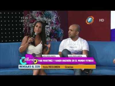 ¡Fabi Martinez y Karen Brizueña en #ElResumen!