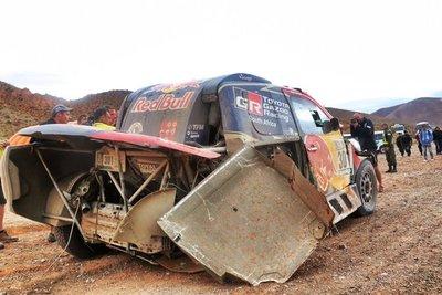 Rally Dakar 2017: un miércoles duro para los pilotos